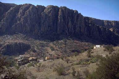 Relief caractéristique de la région de de Aït Souab