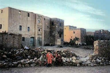 Enfants au village de d'Aït Lahcen