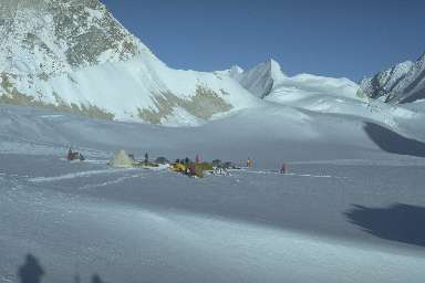 Camp au West Col (6143m)