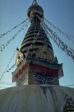 Le stupa bouddhiste de Pashupatinath