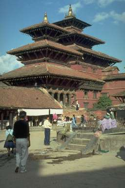 Temples népalais à Patan