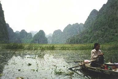 Tam Coc (La Baie d'Halong terrestre)
