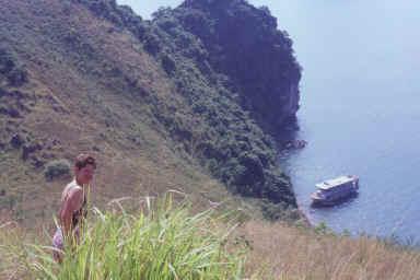Ascension d'un îlot