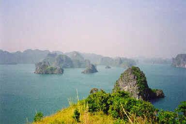 Panorama de la Baie d'Halong