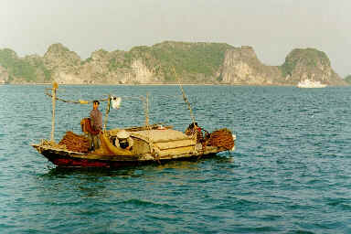 Jonque de pêcheur