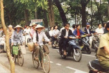 Circulation à Hanoï